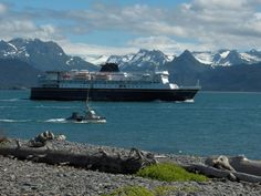 Alaska ferry now