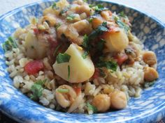 Chickpea and Potato Stew