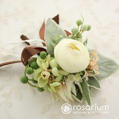 ロザリウム(Rosarium) ブートニア