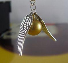 Золотой Снитч, кулон-подвеска из фильма Гарри Поттер