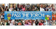 Play Pass the Torch with me during the #ServiceUnites Compassion Games at the Points of Light conference.