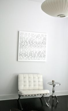 wall art canvas lyrics