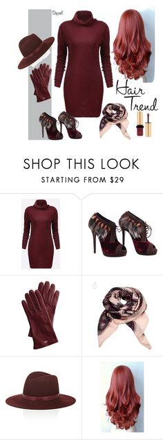 """""""Untitled #623"""" by dashe-diva ❤ liked on Polyvore featuring beauty, Fendi, Mark & Graham, Janessa Leone, Yves Saint Laurent, hairtrend and rainbowhair"""