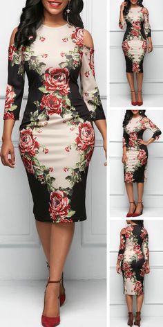 Dresses For Women African Dresses For Kids, Latest African Fashion Dresses, African Print Fashion, Women's Fashion Dresses, Outfits Dress, Modest Dresses, Simple Dresses, Sexy Dresses, Casual Dresses