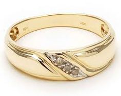 Men S Engagement Rings If They Contain Diamonds Have The Either Set Into Gold Wedding