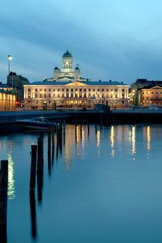 The historic Hotel Kämp is just steps from the stately Esplanadi and other Helsinki sights. #Jetsetter