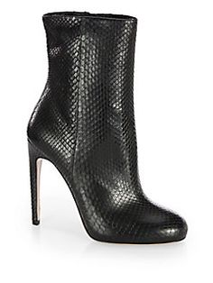 Gucci - Goldie Python Ankle Boots