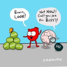 The Awkward Yeti comics Smile Quotes, Funny Quotes, Funny Memes, Hilarious, Psych Memes, Funny Guys, Funny Cartoons, Funny Comics, Heart And Brain Comic