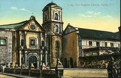 San Agustin Church Fort Santiago, Philippine Architecture, Philippine Art, Intramuros, Filipiniana, Manila, Notre Dame, Philippines, Scene