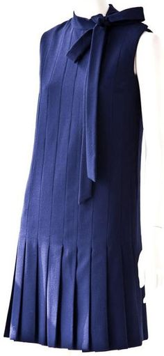 1960s Jean Patou dress - this is a universally flattering cut....I'll take one in every color please ;)