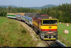 RailPictures.Net Photo: CD 754 044 6 Ceske Drahy CD 754 at Ovesna, Czech Republic by Jaroslav Dvorak