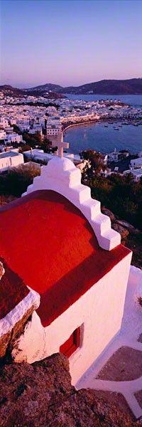 Mykonos, Greece. Photo by Peter Lik