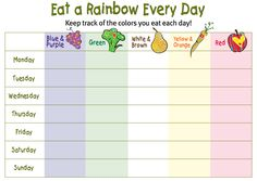 Eat a Rainbow Every Day