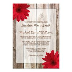 >>>Cheap Price Guarantee          	Red Daisy Rustic Barn Wood Wedding Announcements           	Red Daisy Rustic Barn Wood Wedding Announcements In our offer link above you will seeDiscount Deals          	Red Daisy Rustic Barn Wood Wedding Announcements Online Secure Check out Quick and Easy...Cleck Hot Deals >>> http://www.zazzle.com/red_daisy_rustic_barn_wood_wedding_announcements-161374600798984009?rf=238627982471231924&zbar=1&tc=terrest