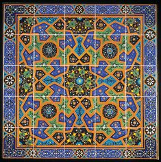 The creation of Persian tiles began about 1200 A.D. After conquering Timur, the people of Persia learned from Chinese pottery that many colors could be added to one tile. By 1500 A.D., the colors of Chinese pottery became an integral part of Persian tilemaking and unique to the region. Persian tile decorating reached its zenith in the 18th and 19th centuries. Tiles are used in two different ways for art. The first is the mosaic — a design created from gluing bits of different colored tiles…