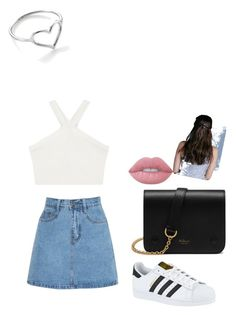 """""""Untitled #18"""" by stepha9763 on Polyvore featuring BCBGMAXAZRIA, adidas, Mulberry, Lime Crime and Jordan Askill"""