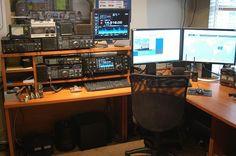 View Of N0KGM Ham Radio Shack