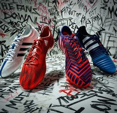 Let your feet do the talking. Silence the doubters. and available tomorrow. Best Soccer Shoes, Adidas Football, Cool Boots, Cleats, Sneakers, Tacos, Shots, Nice, Fashion