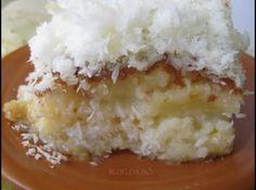 Receita de bolo gelado - bolo estiver assado fure com um garfo espalhe sobre o bolo a calda polvilhe o coco ralado,ponha da geladeira para gelar por 2...