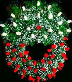 Coronas de Flores para los Muertos