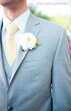 Traje para Novio combinación color #PlacidBlue #Groom #Wedding #YUCATANLOVE