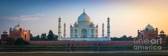 The Taj Mahal is a white marble mausoleum located in Agra, Uttar Pradesh, India. It was built by Mughal emperor Shah Jahan in memory of his ...
