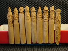 Clothespin Whittling