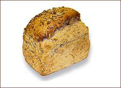 Pan de molde aleman de centeno y girasol