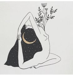 I surrender to the love that's all around me ❋ Art And Illustration, Illustrations, Kunst Inspo, Art Inspo, Mystique, Witch Art, Dark Art, Art Drawings, Statues