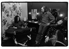 Neil Young backstage at Fillmore East, March 7, 1970. (Amalie R. Rothschild)