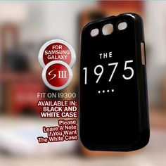 The 1975 Band Black for Samsung Galaxy S3 case Cover