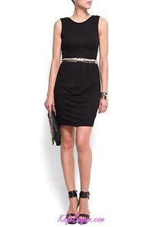 Mango #dress #blackdress