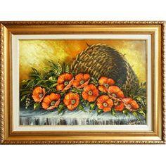 Cosulet cu maci Art Gallery, Painting, Art Museum, Fine Art Gallery, Painting Art, Paintings