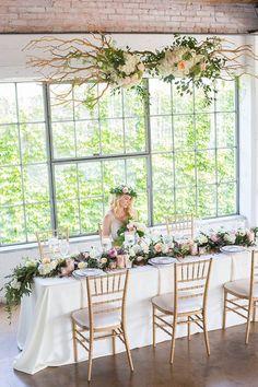 An urban garden wedding at Dallas' Hickory Street Annex | Photos by Murphy + Grace