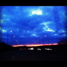 #Sunset on way to #Amersham for #baby #party. Eek, there's nearly 10 little #children here! #creche via @sparrow_tweets