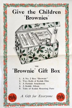 a small cardboard box covered in leatherette - but the Brownie may be the most important camera ever made.