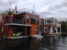 Lake Union Houseboats #Seattle Via Our Ambassador Kim Mulligan