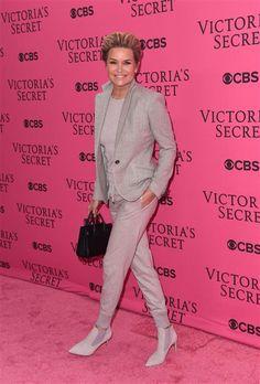 Yolanda Foster attended the Victoria's Secret Fashion Show in New York City on Nov. 10, 2015.