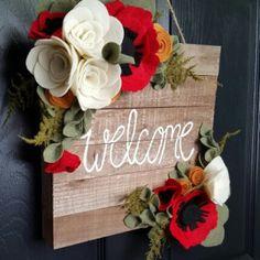 Outdoor Fall Door Wreath Roundup