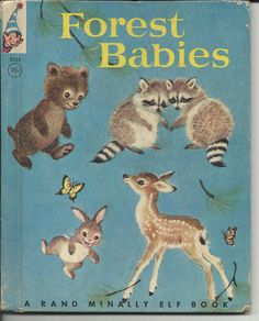 """Forest Babies"" by Jean J. Parrish with illustrations by Elizabeth Webbe"