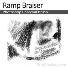 Ramp Braiser - Photoshop Charcoal Brush - Grutbrushes.com