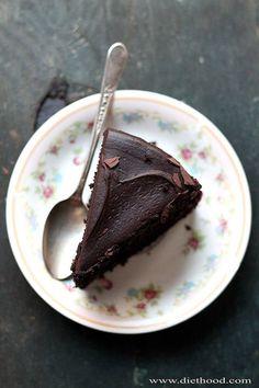 Black Magic Chocolate Cake | www.diethood.com | Moist, rich, and delicious dark chocolate cake perfect for any occasion! | #recipe #chocolatecake #cakerecipe