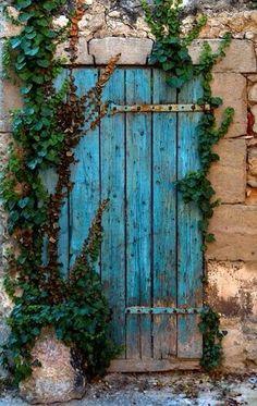 46 ideas for exterior wall color architecture Cool Doors, Unique Doors, When One Door Closes, Door Gate, Door Knockers, Garden Gates, Doorway, Architecture, Belle Photo