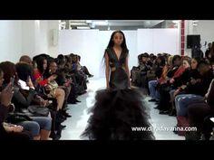 Diva Dvanna Walks Small Boutique Fashion Week 2015 - YouTube