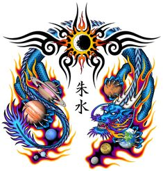 Chinese Dragon Tattoo Has Always Been A Symbol Of Power In The East