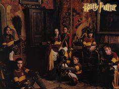The Gryffindor Quidditch Team