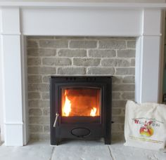 Jersey Fireplace using Brick slips