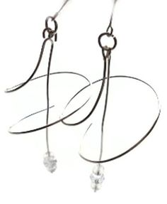 Sterling Silver Spiral Earrings by ExpressiveBeauty on Etsy, $22.00