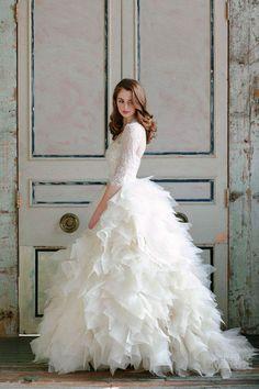 wedding dress #gown #fashion #bridal #elegant