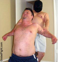 bears goatee home wrestling